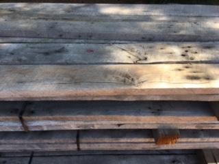 Circle sawn Oak Wood